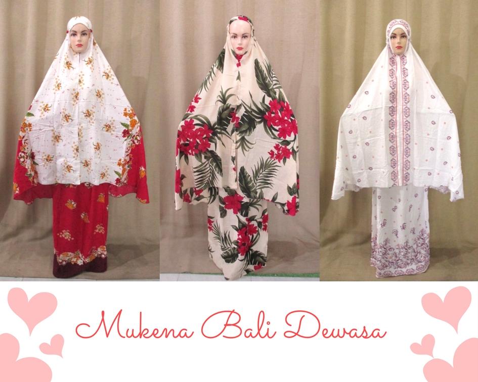 Mukena Bali Dewasa