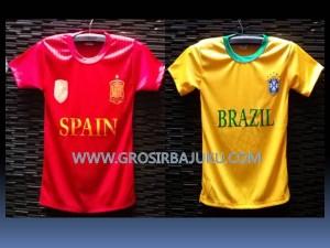 Baju Bola Piala DUnia 2014 Brazil Spanyol