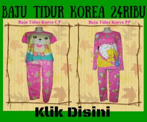 Grosir baju Tidur Korea Termurah