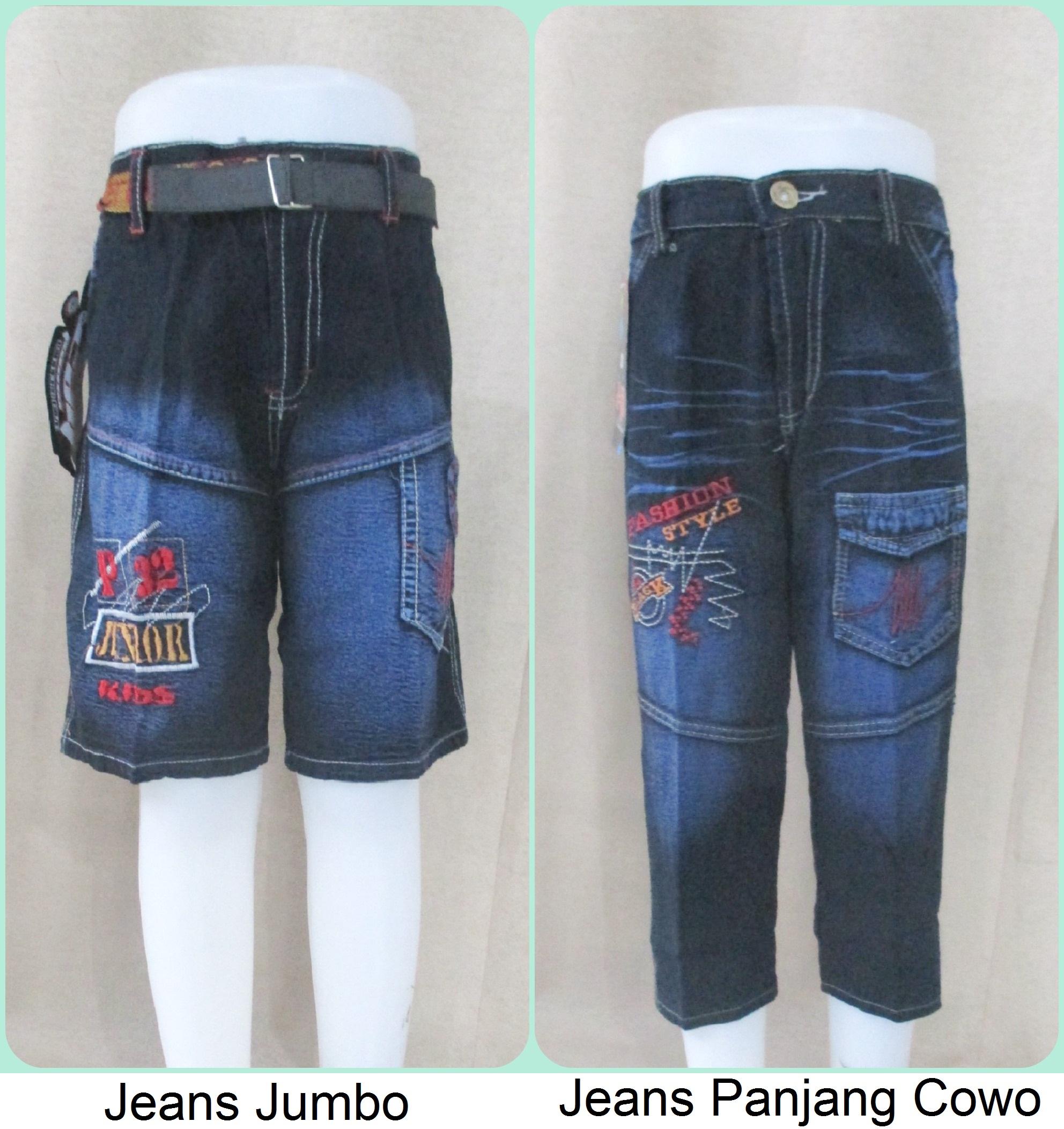 Jeans Anak Jumbo Dan Jeans Panjang Cowo