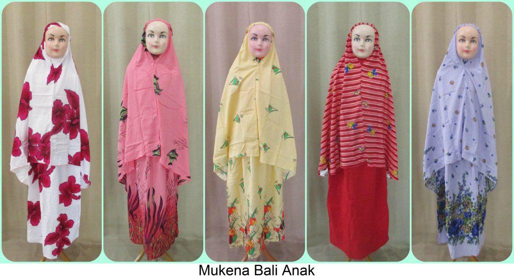 Mukena Bali Anak Karakter Murah