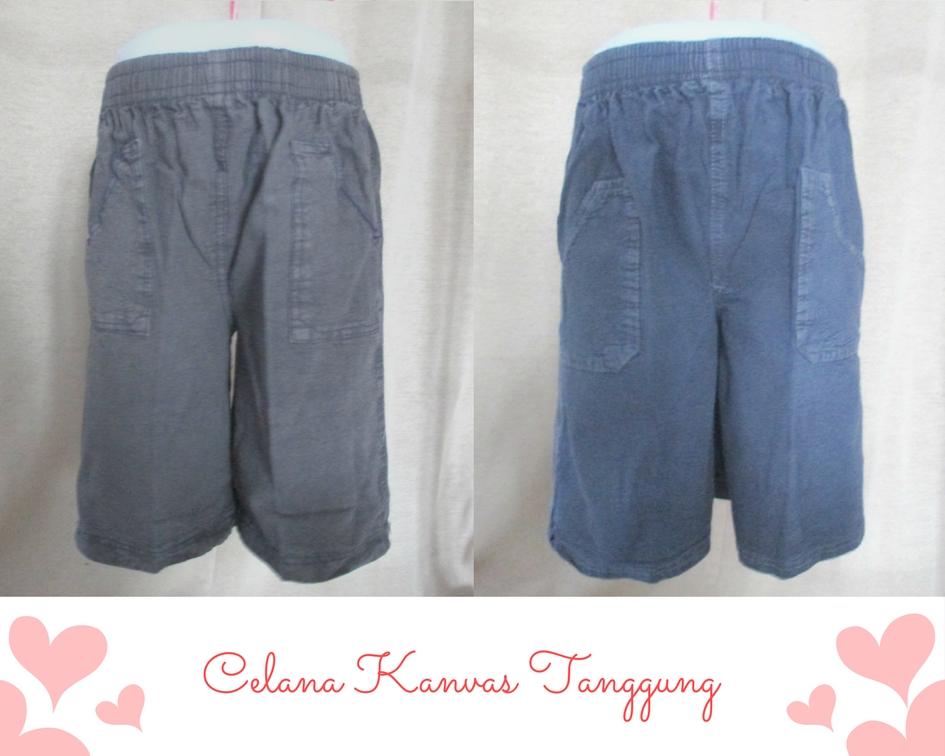 Celana Kanvas tanggung