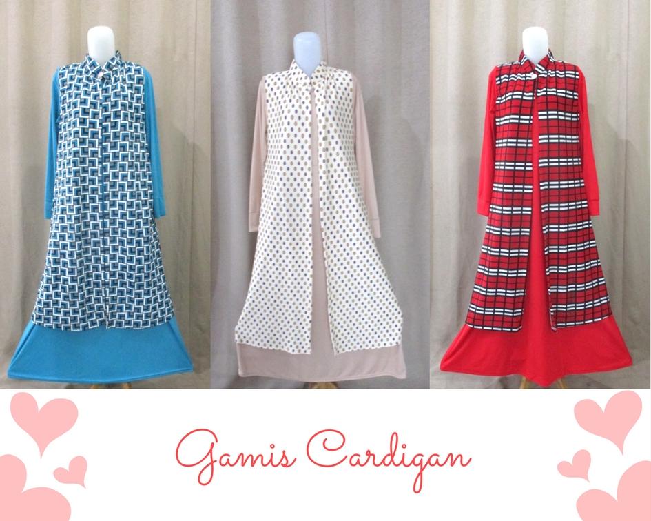 Gamis Cardigan (3)