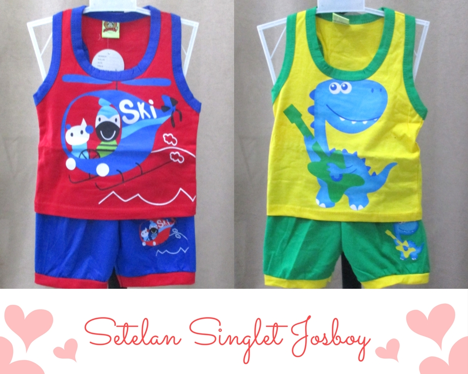 Set Singlet Josboy