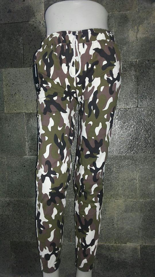 grosir celana jogger wanita army murah