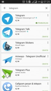 telegram android grosir