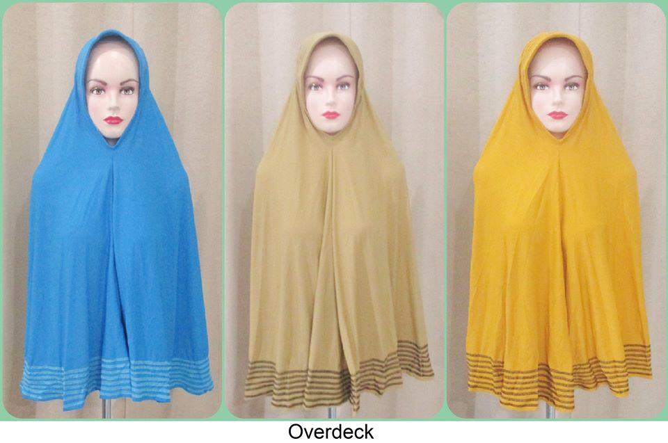 jilbab overdeck