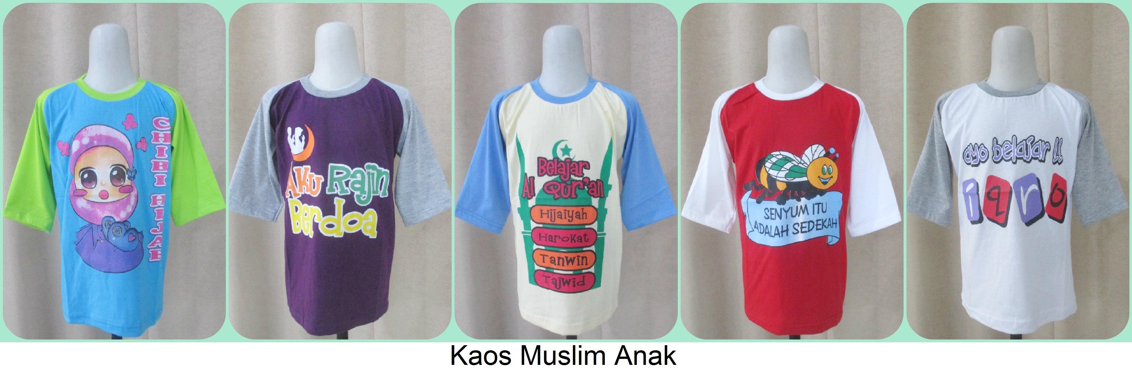 Grosir Kaos Muslim Anak Termurah Tanah Abang
