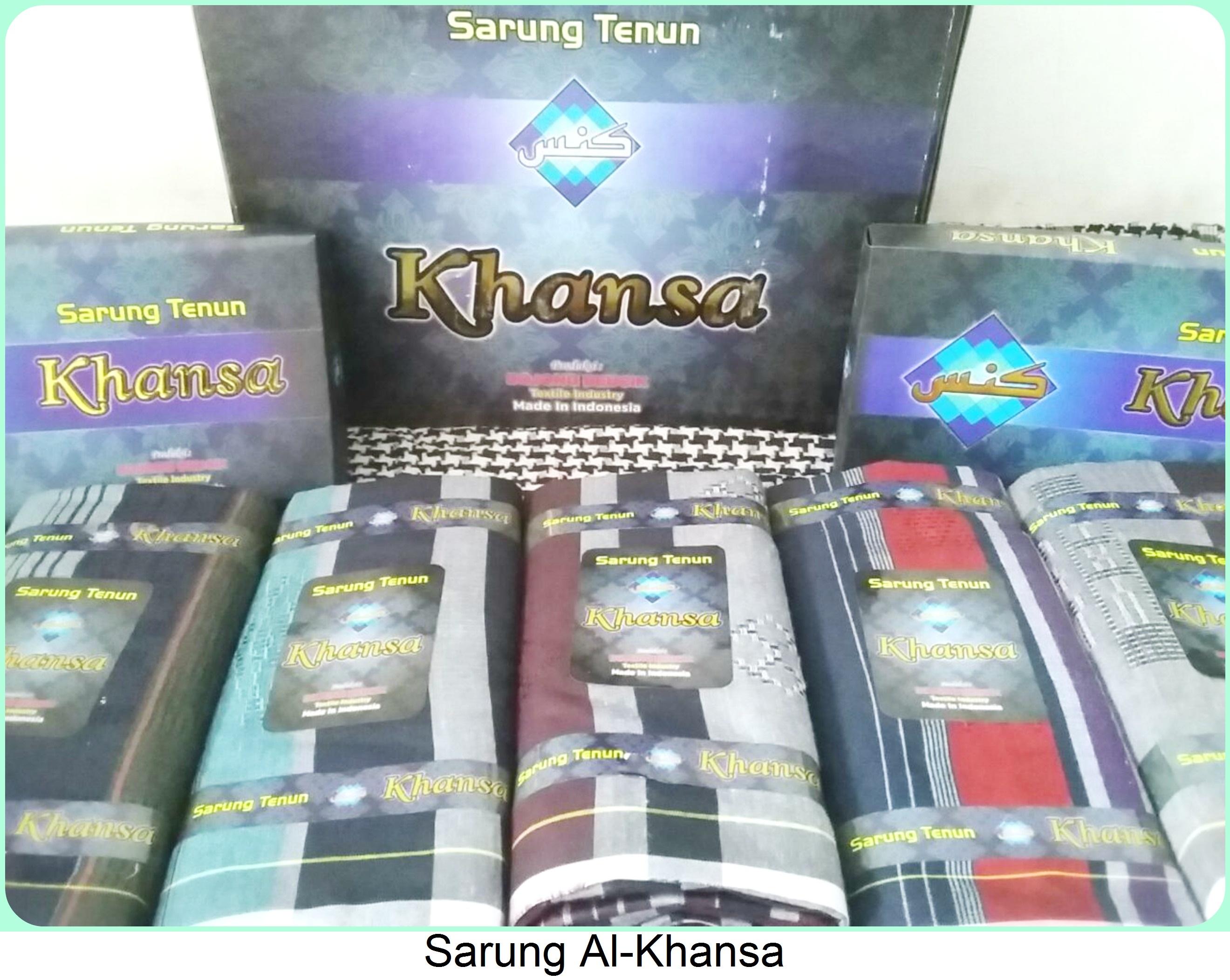 Grosir Sarung Tenun Al- Khansa Branded