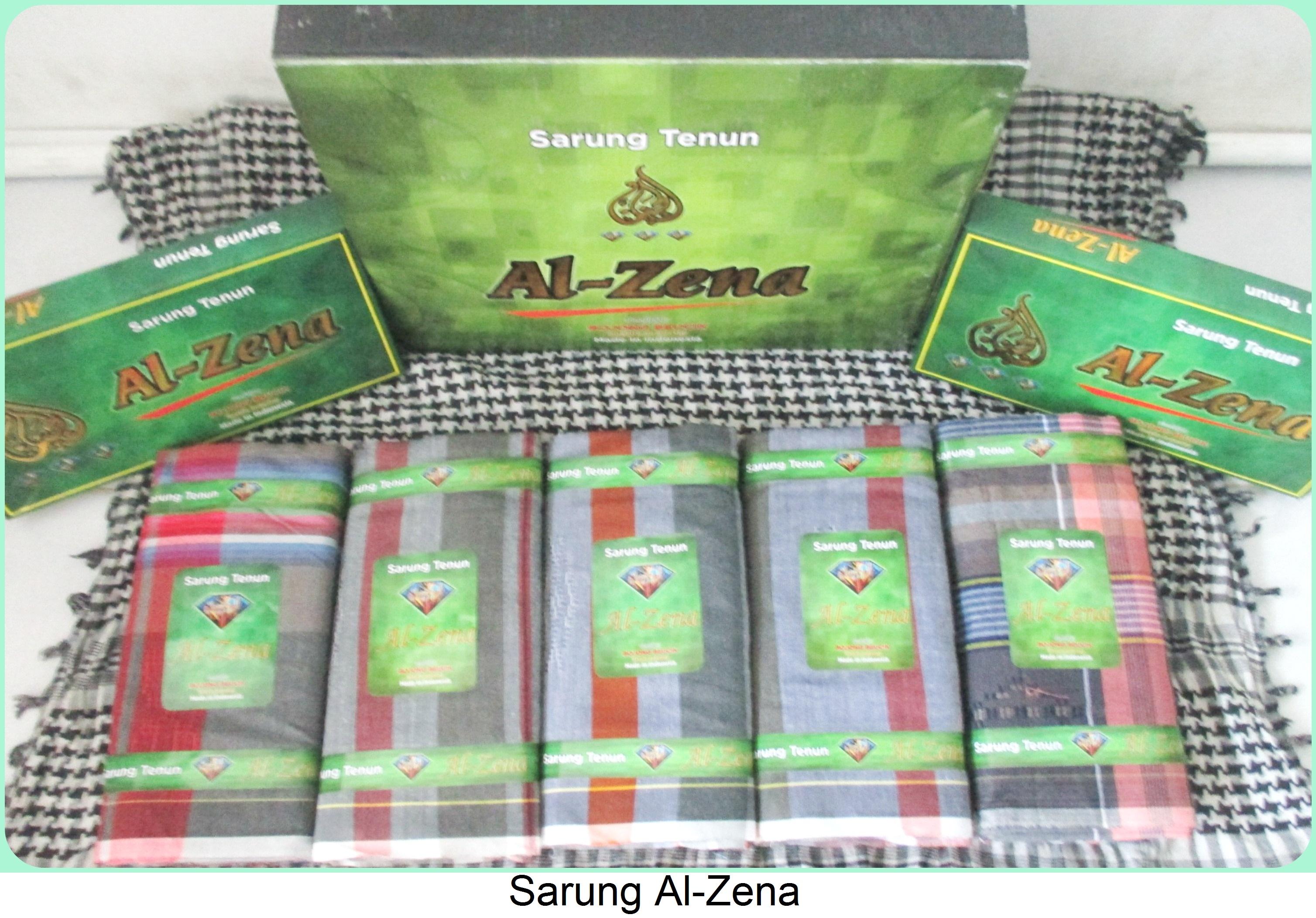 Grosir Sarung Tenun Al-Zena Termurah Tanah Abang