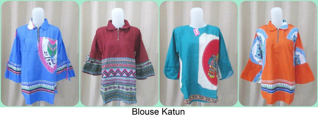 Grosiran Blouse Katun Murah