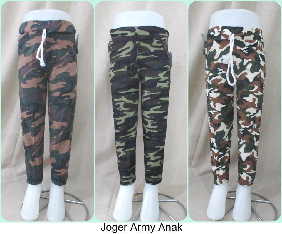 Grosiran Jogger Army Anak-Murah