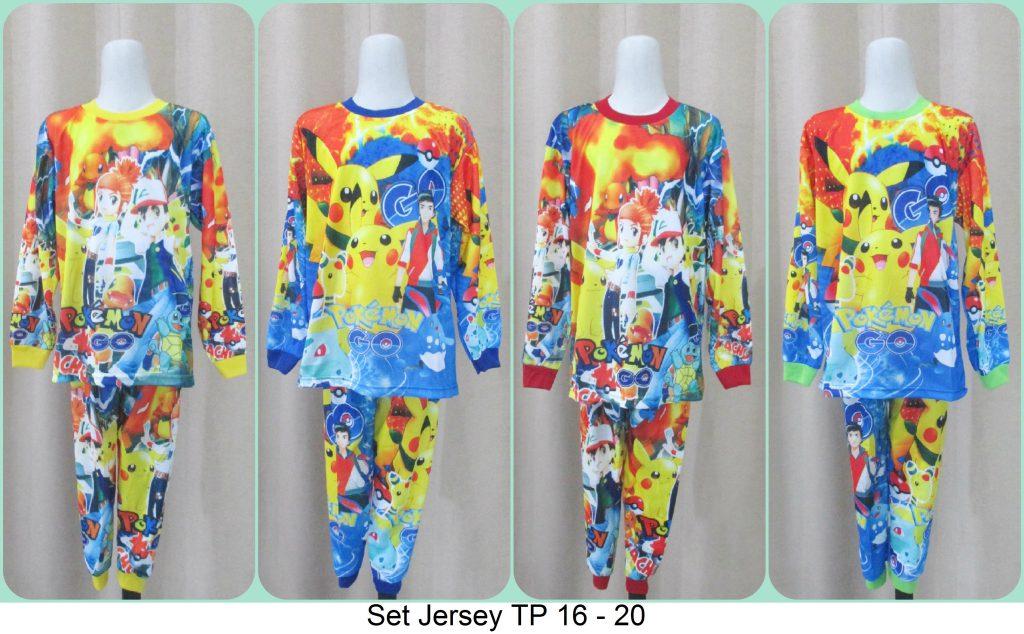 Grosiran Setelan Anak Jersey TP Branded