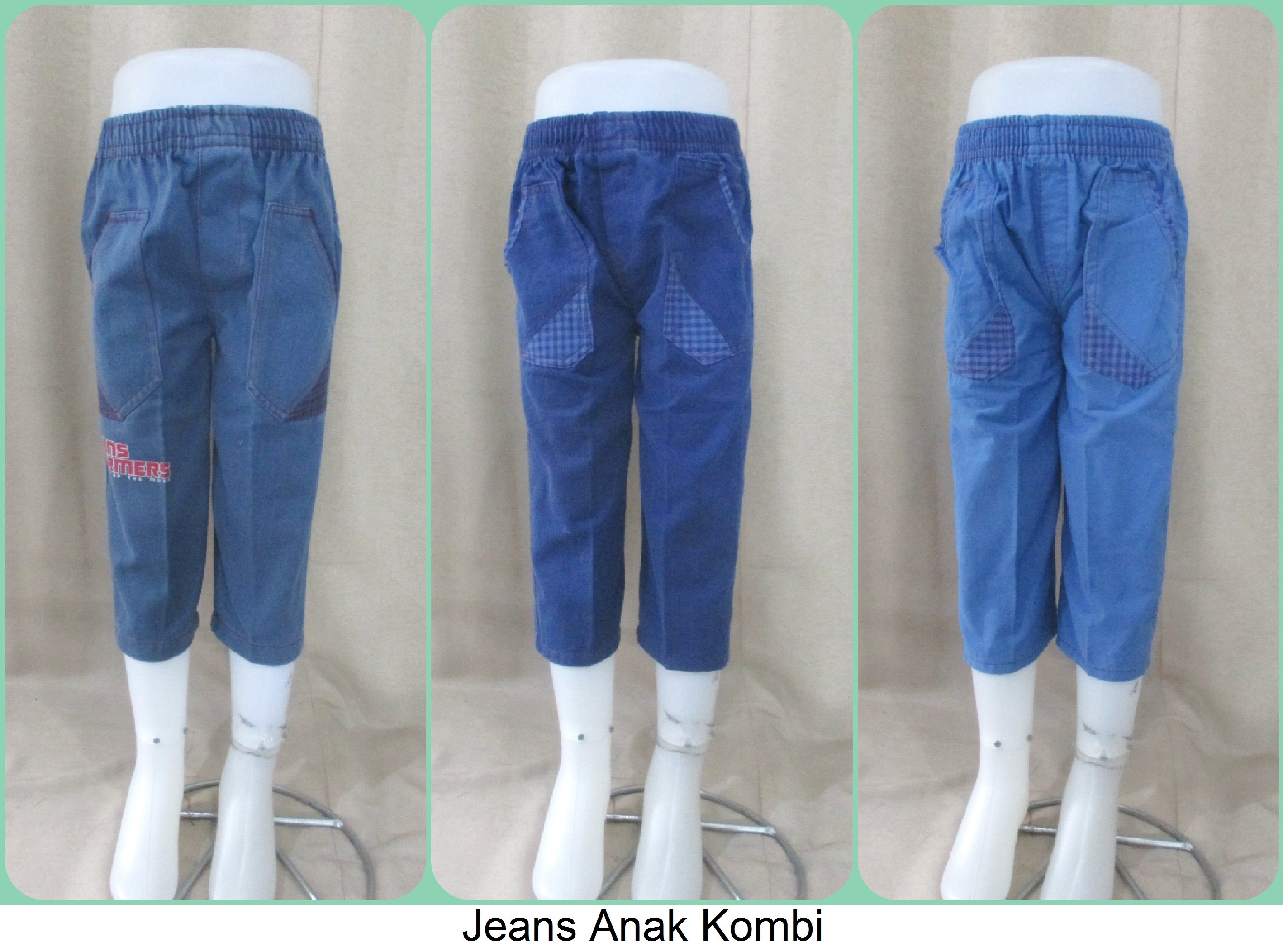 Grosiran Jeans Anak Kombi Termurah Cikarang