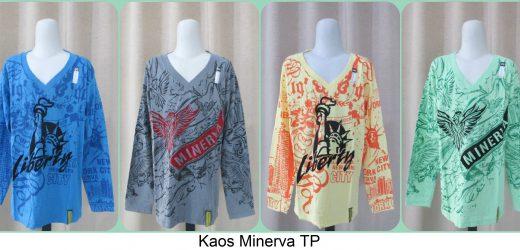 Grosiran Kaos Minerva TP Terbaru Murah Cikarang