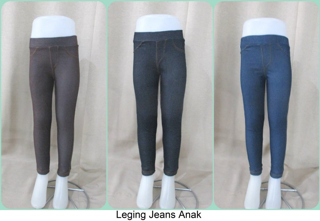 Sentra Grosir Leging Jeans Anak Terbaru Murah Cikarang