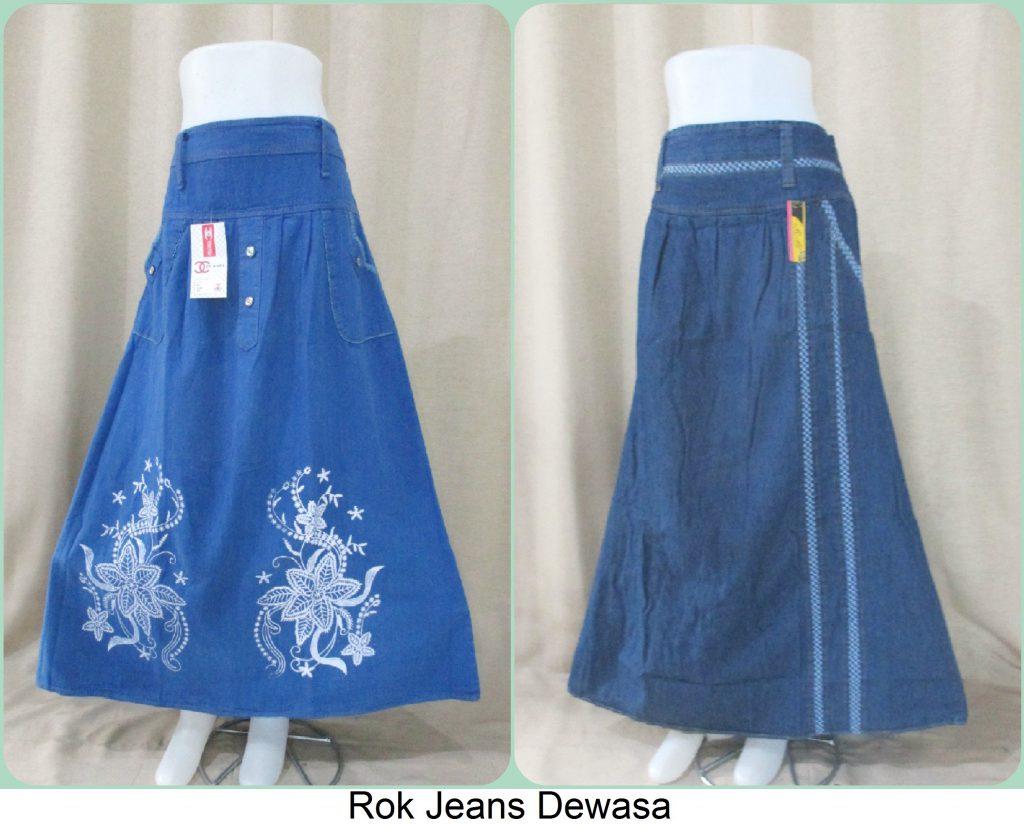 Sentra Grosir Rok Jeans Dewasa Termurah Cikarang