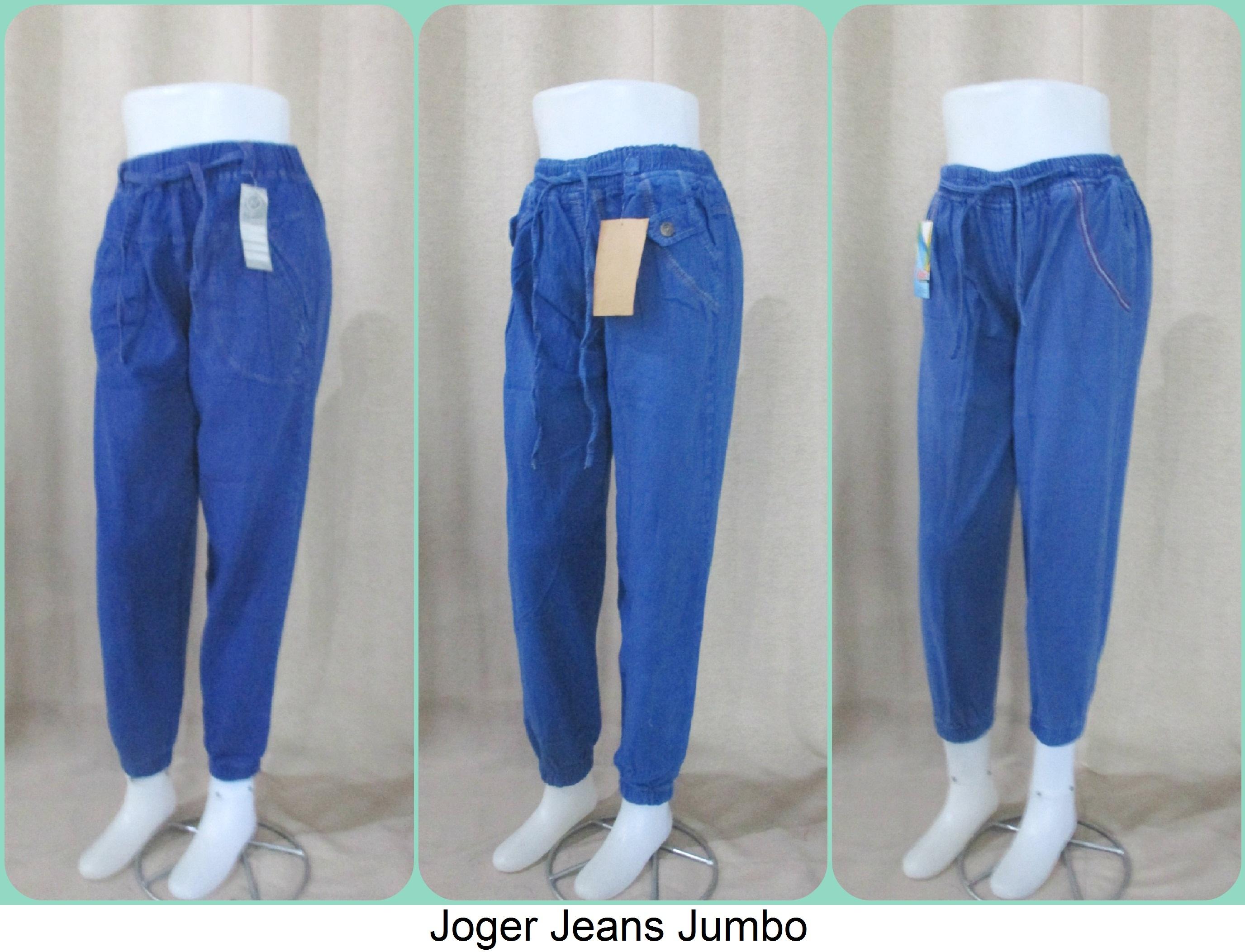 Sentra Grosir Joger Jeans Jumbo Termurah Cikarang