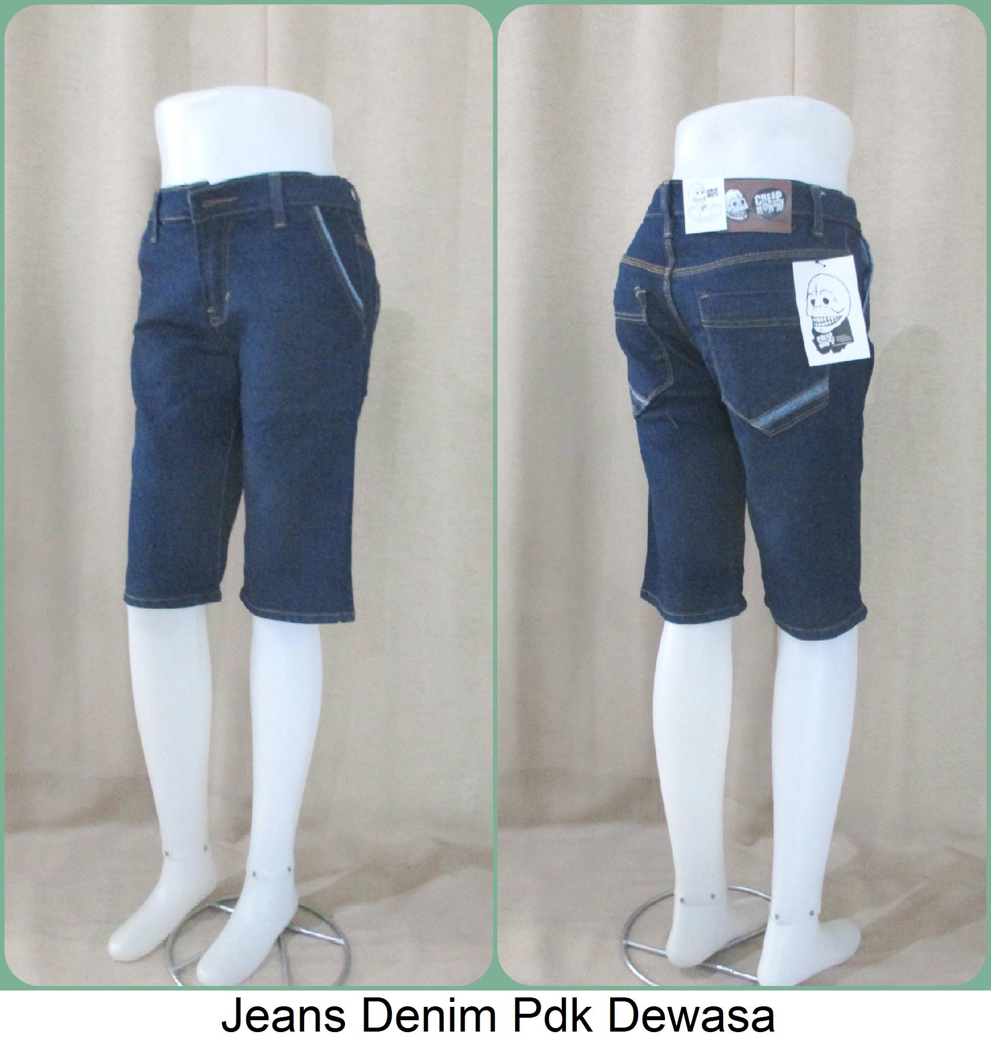 Sentra Grosiran Jeans Denim Pdk Dewasa Murah Meriah