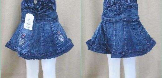 Pusat Grosiran Rok Jeans Anak Cewe Lucu Murah