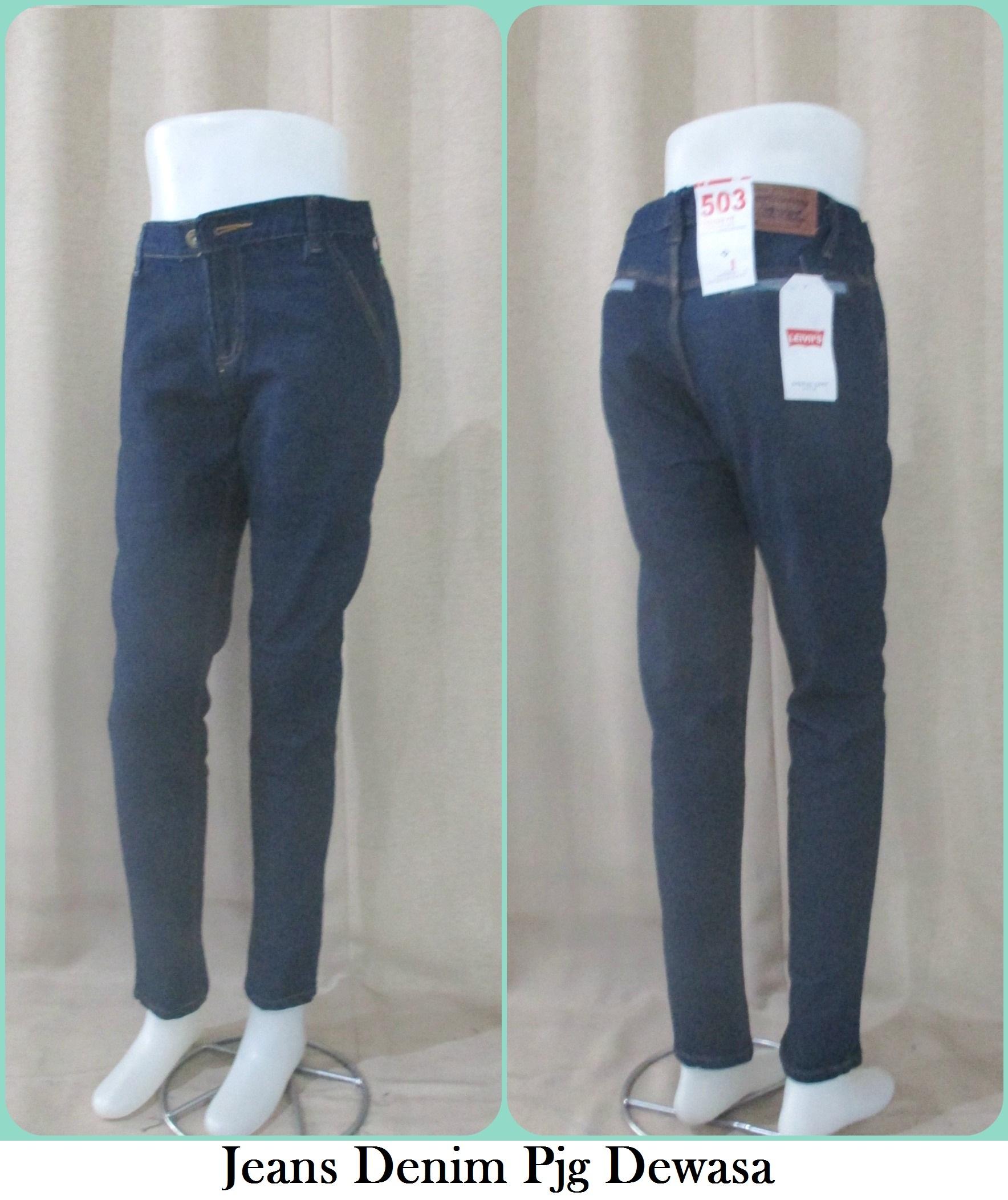 Sentra Grosir Jeans Denim Panjang Dewasa Murah