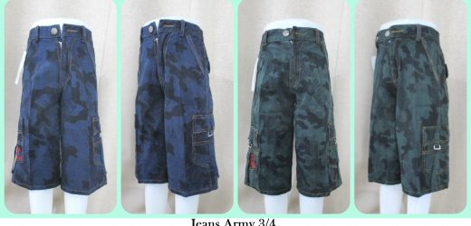 Sentra Grosir Jeans Army 34 Anak Murah Tanah Abang
