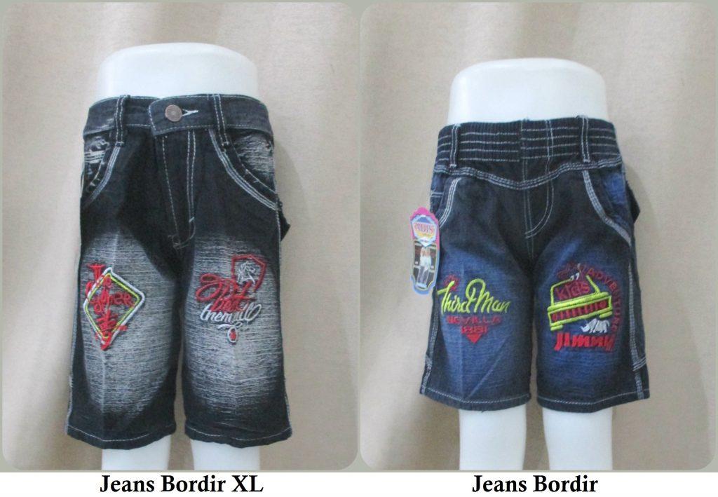 Sentra Grosir Jeans Bordir dan Jeans Bordir XL Anak Branded Murah