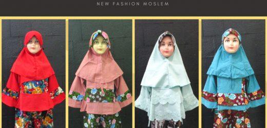 Pusat Grosir Gamis Linen Anak Perempuan Syar'i Murah