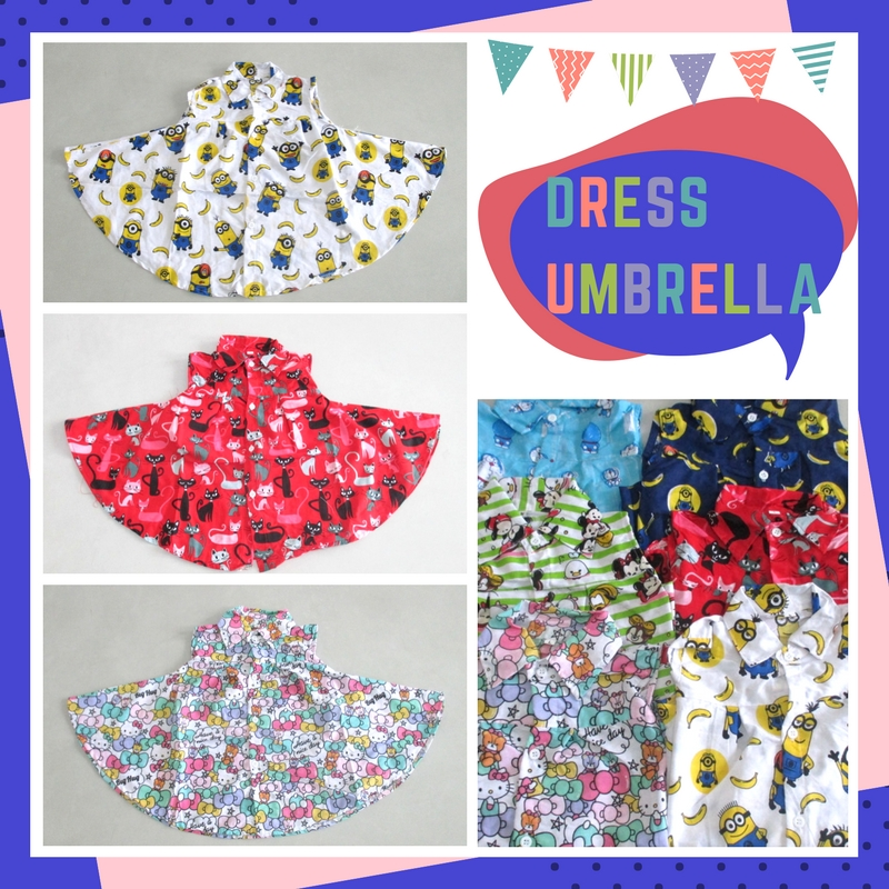 Sentra Grosir Dress Umbrella Anak Perempuan Murah
