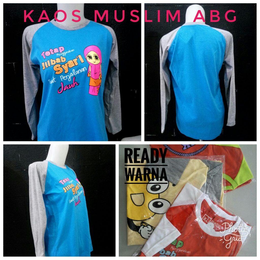 Supplier Kaos Muslim ABG Murah Surabaya 24ribuan