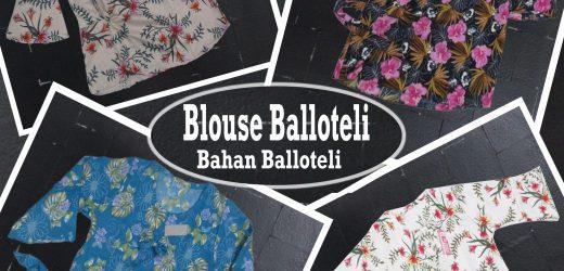Grosir Blouse Balloteli Dewasa Murah 28Ribuan