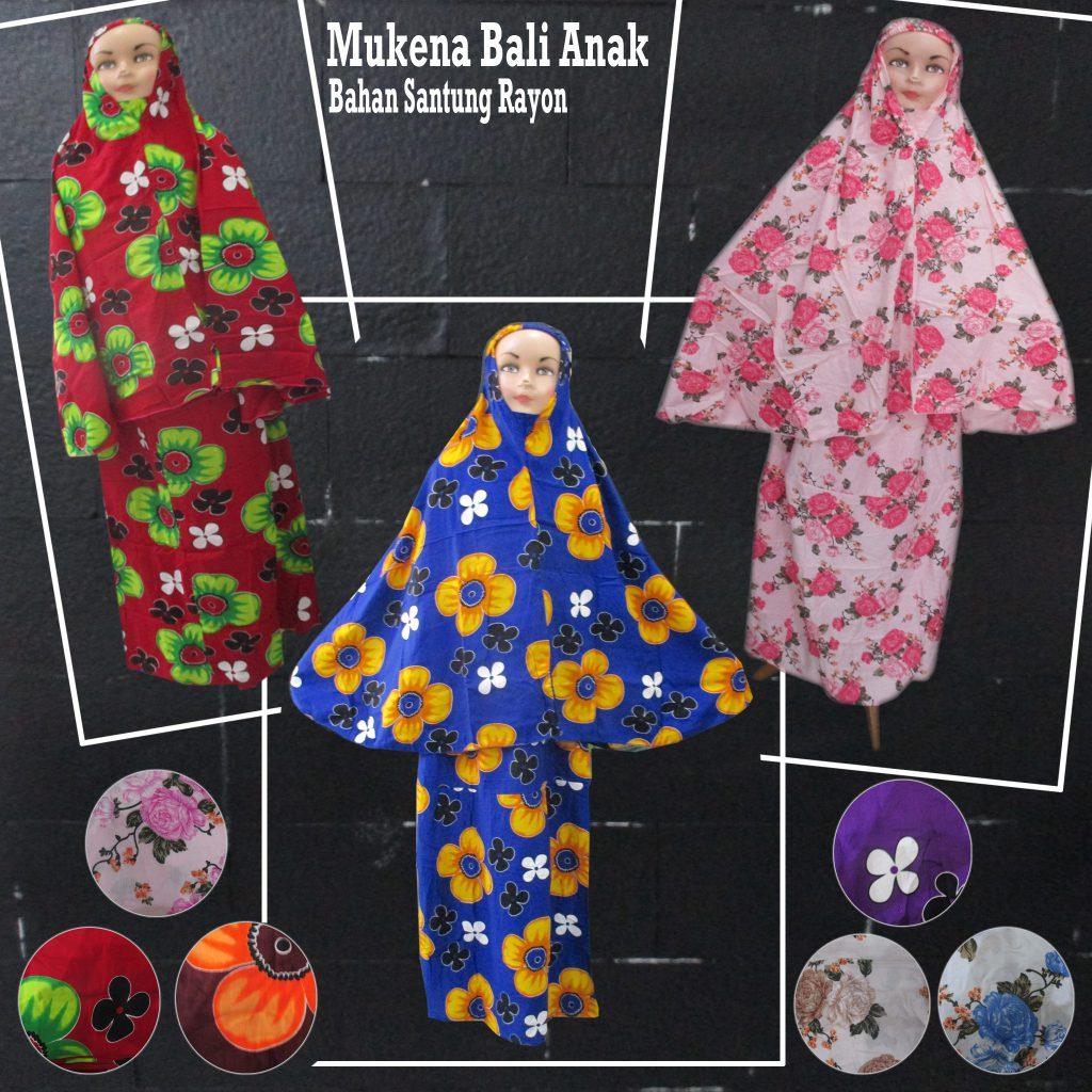 Pusat Obral Grosir Baju Anak 5000 Mukena Katun Jepang Murah Meriah Langsung Dari Pabrik Sentra Grosir Mukena Bali Anak Murah 48ribuan
