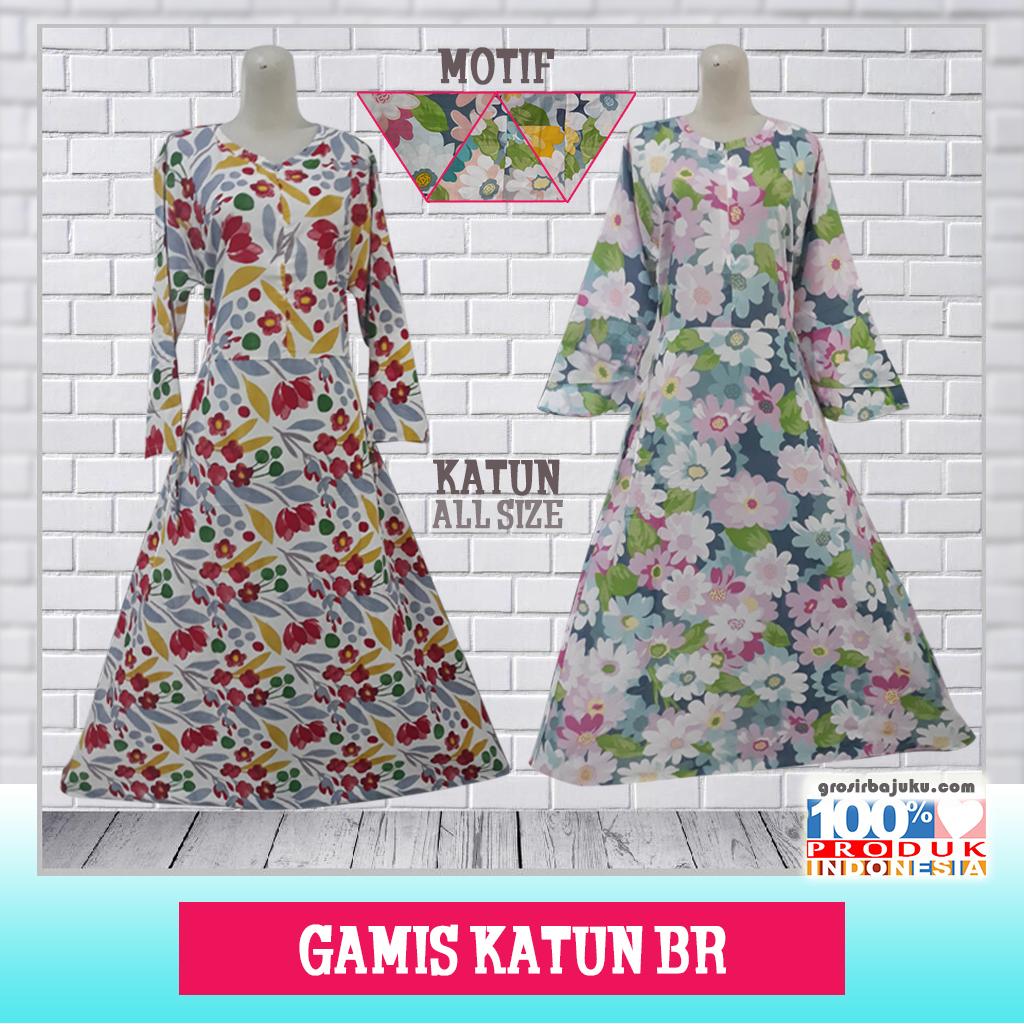 Gamis Katun BR