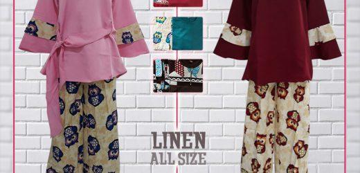 Set Kulot Linen