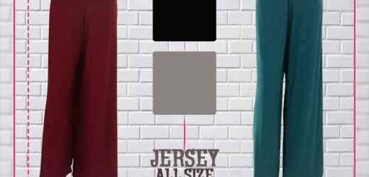 Celana Kulot Jersey