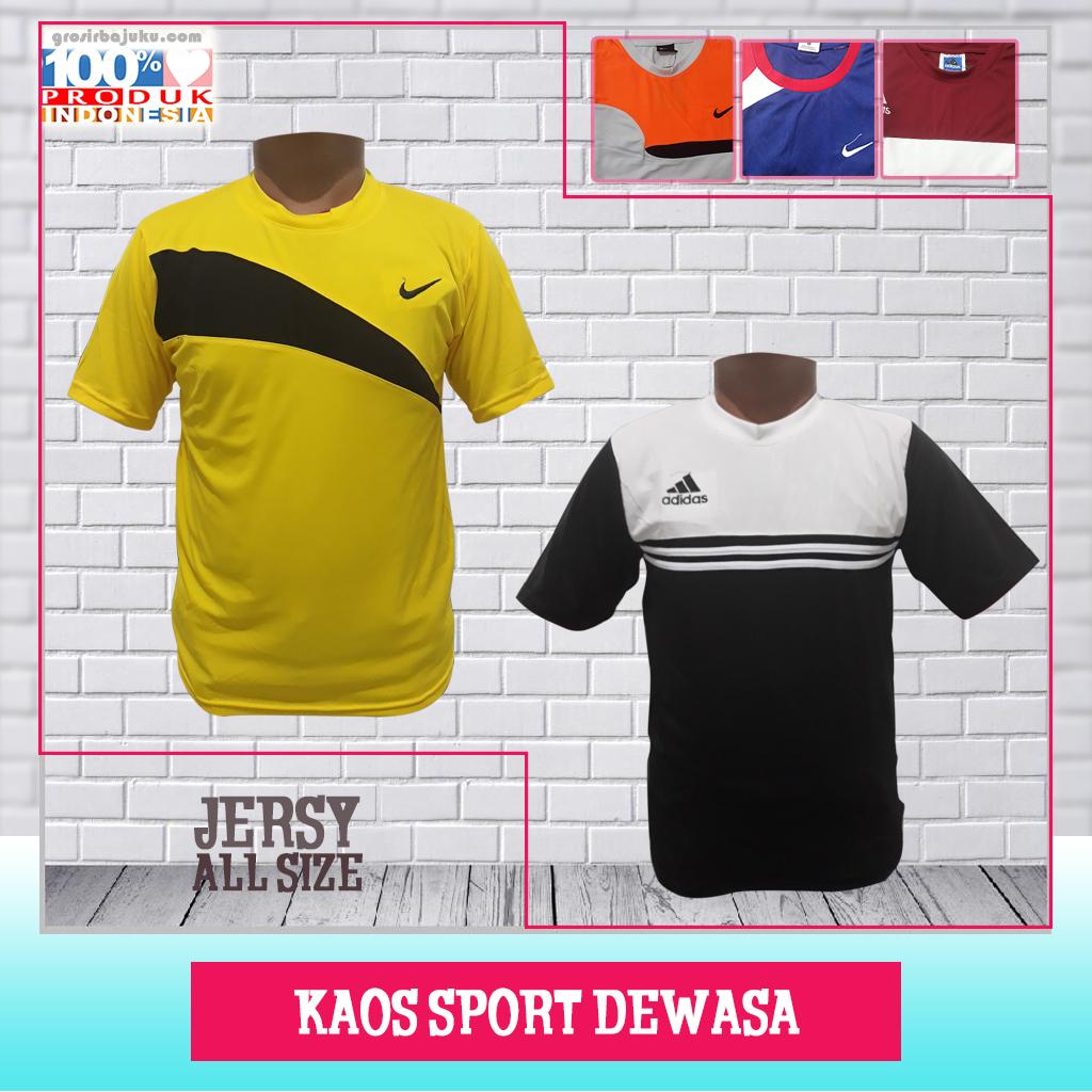 Kaos Sport Dewasa