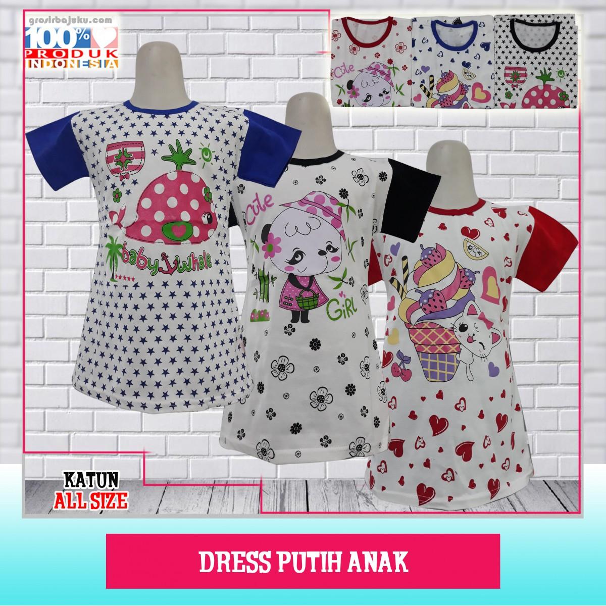 Dress Putih Anak