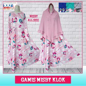 Gamis Misby Klok