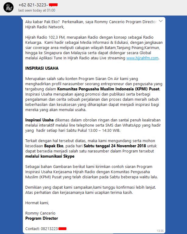 Pusat Obral Grosir Baju Anak 5000 Mukena Katun Jepang Murah Meriah Langsung Dari Pabrik Bincang Bisnis EKO KUSNURHADI di Program Inspirasi Usaha Hijrah Radio 102,3 FM