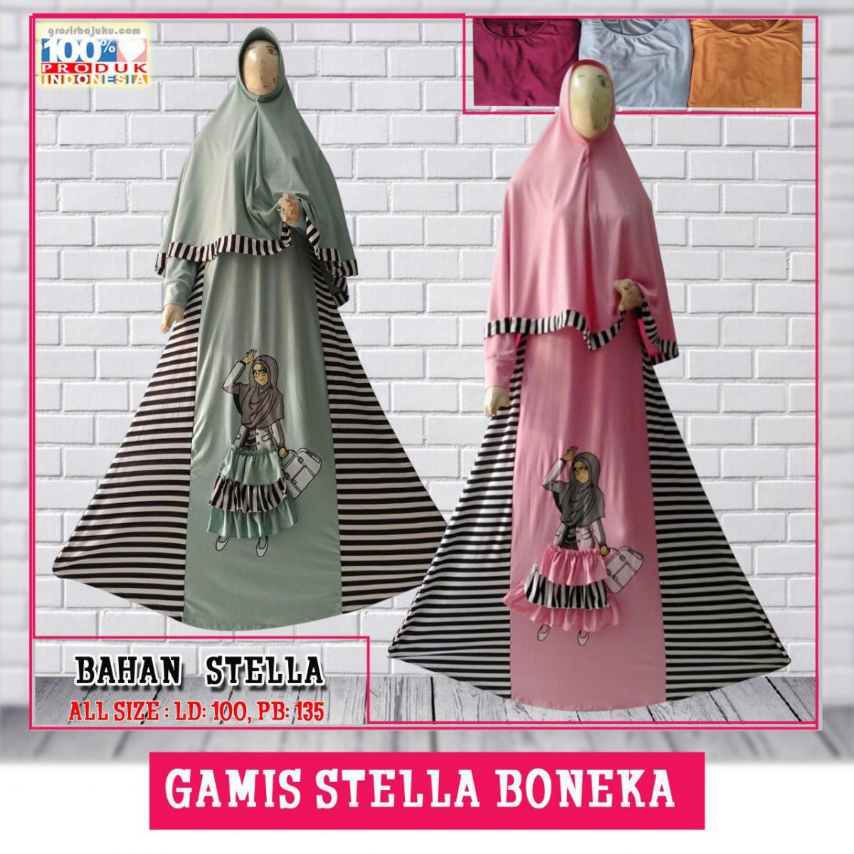Gamis Stella Boneka