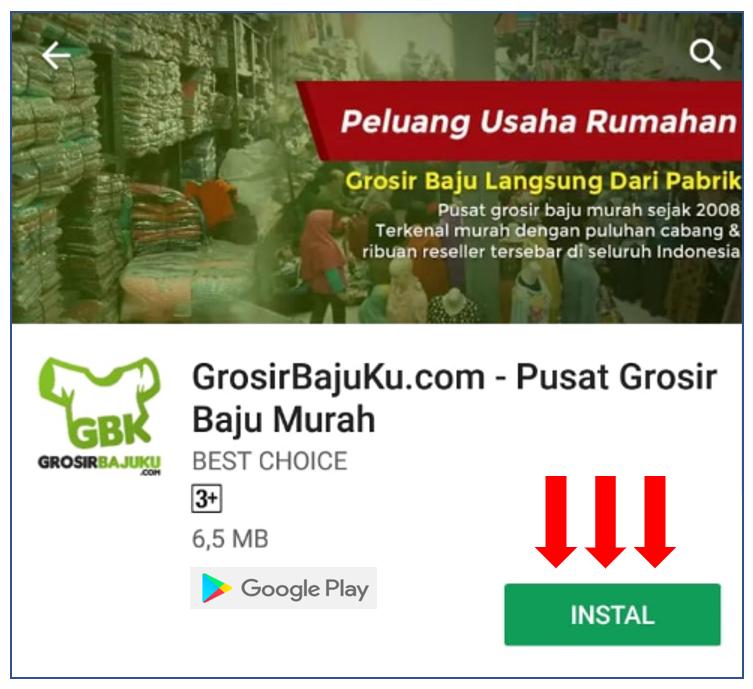 dgrosirbajuku app aplikasi playstore mobile