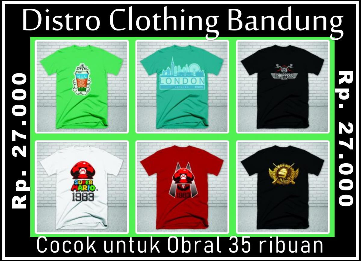 Grosir Kaos Distro murah 2019