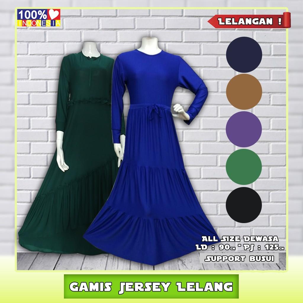 Gamis Jersey Lelang