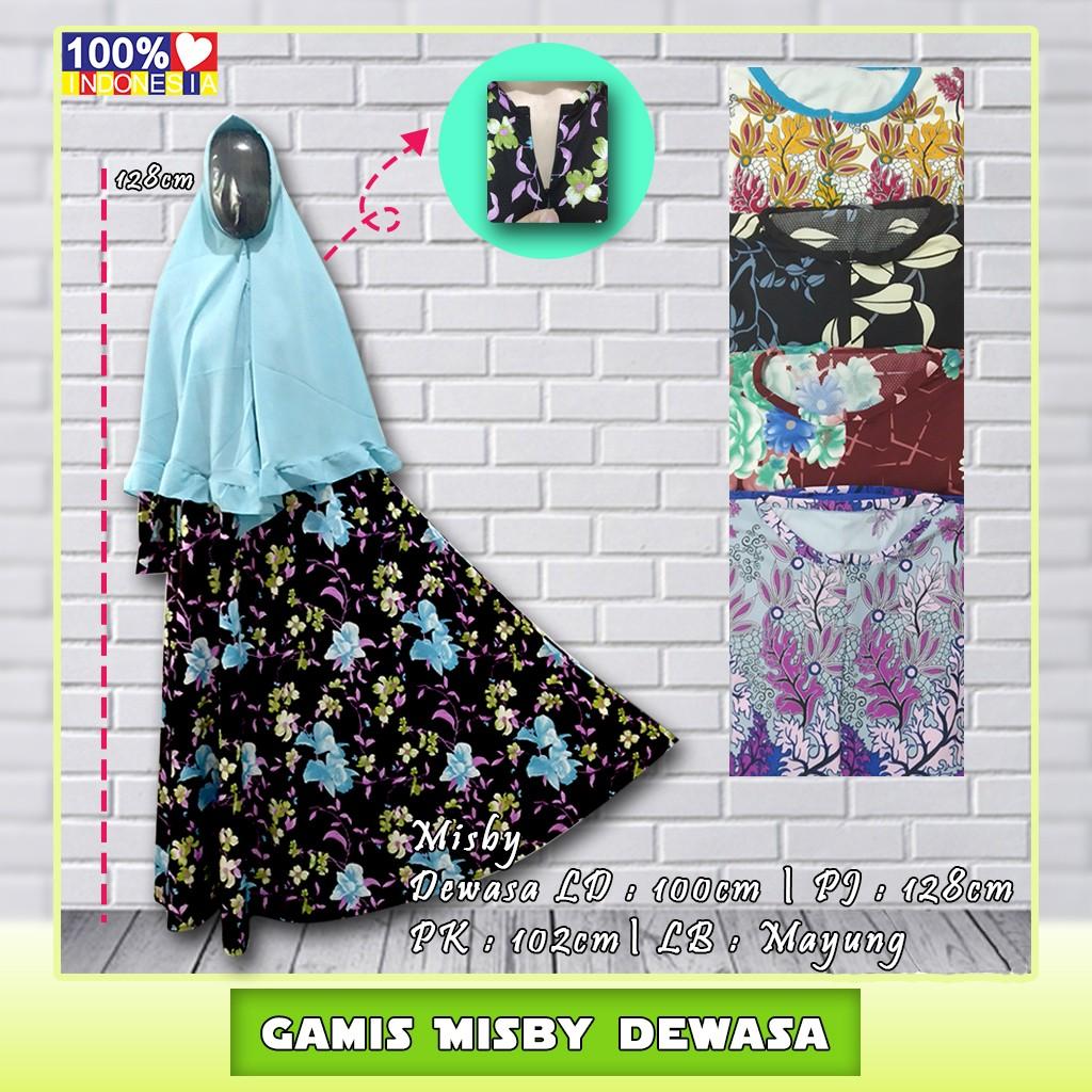 Gamis Misby Dewasa