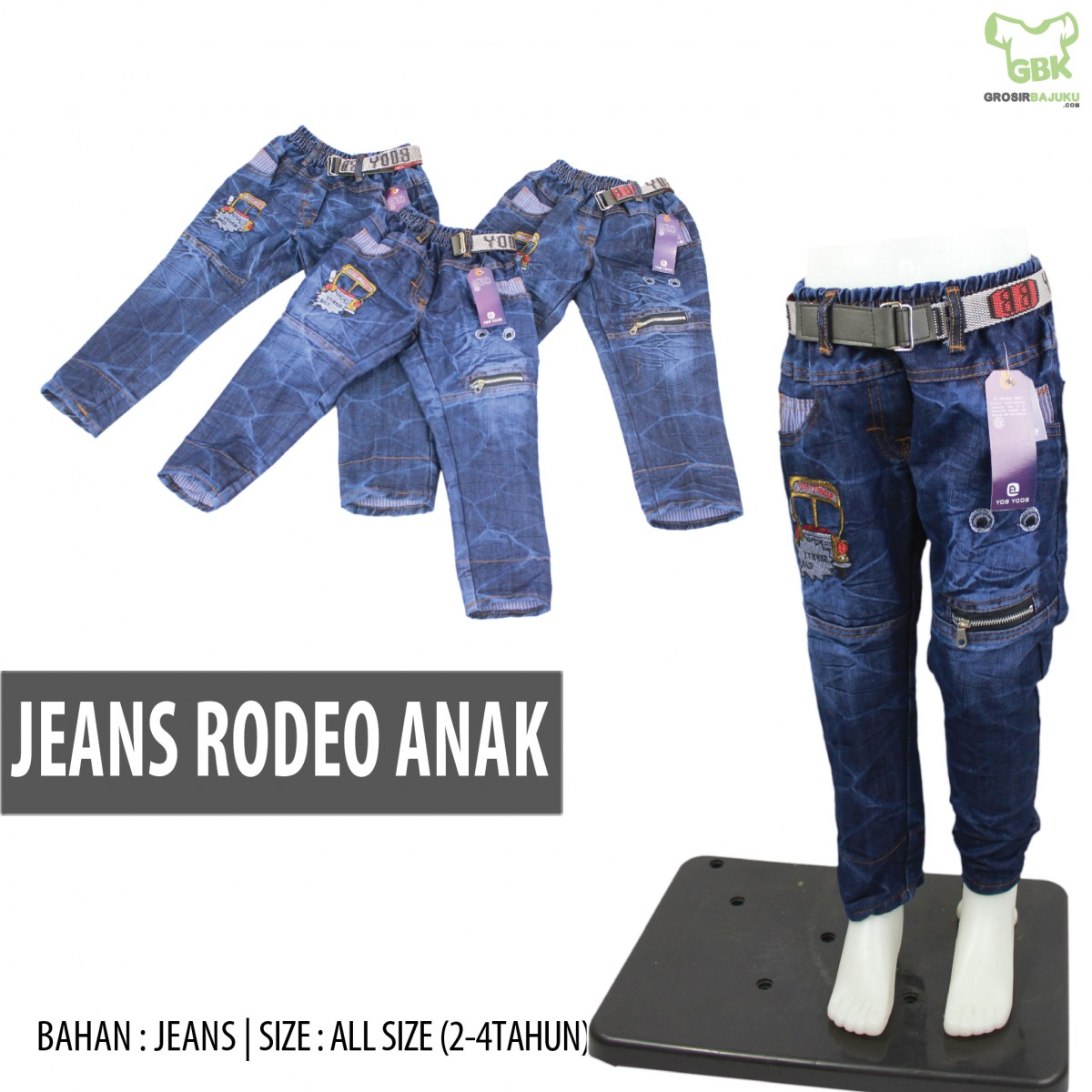 Jeans Rodeo Anak