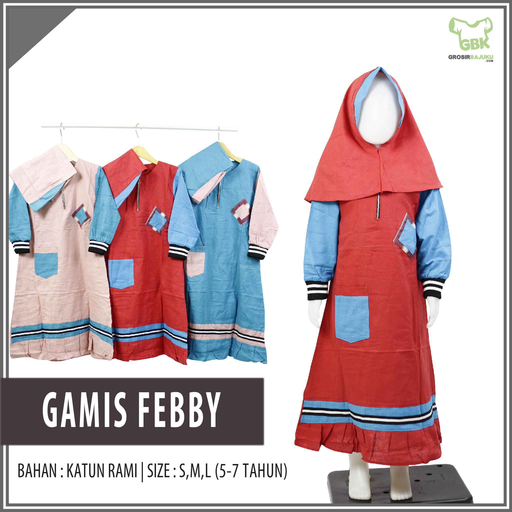 Gamis Febby SML