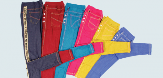 legging denim anak murah