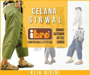 Celana Sirwal Ibro