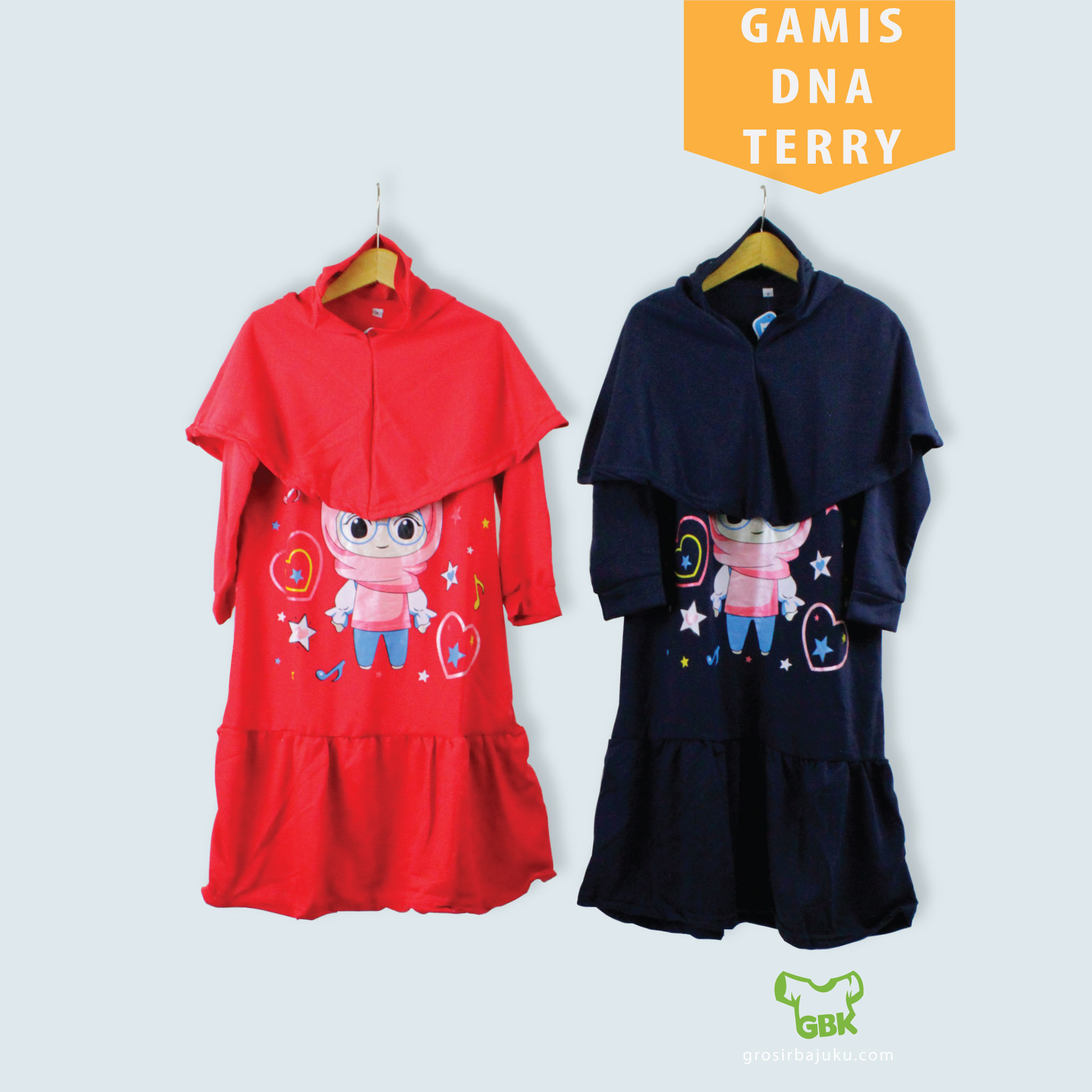 Gamis DNA Terry