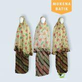 Bisnis Mukena Batik Dewasa Rp 68,000